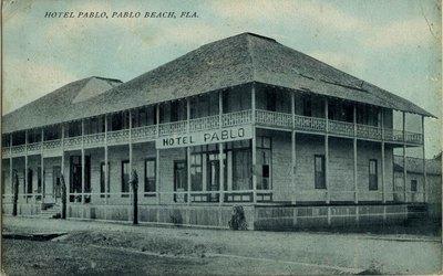 Postcard: Hotel Pablo, Pablo Beach, Florida