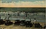 Postcard: The Shore of Pablo Beach, Fla