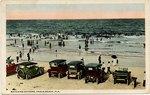 Postcard: Watching Bathers, Pablo Beach, Fla