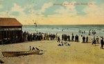 Postcard: Bathing Scene at Pablo Beach, Florida; undated