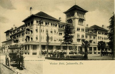 Postcard: Windsor Hotel, Jacksonville, Florida