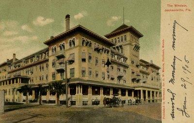 Postcard: The Windsor, Jacksonville, Fla