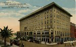Postcard: The Aragon Hotel co., Jacksonville, Fla