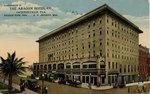 Postcard: The Aragon Hotel co., Jacksonville, Fla