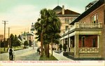 Postcard: Post Office, Windsor Hotel, Hogan Street, Seminole Club, Jacksonville, Florida; 1900's