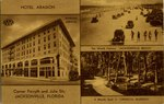 Postcard: Hotel Aragon, Jacksonville, Florida; 1920's