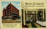 Postcard: Hotel Flagler, Jacksonville, Florida; 1920's