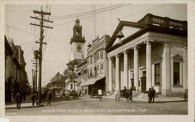 Postcard: Florida State Bank, Jacksonville, Florida 1900's