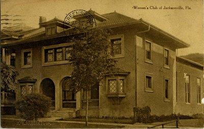 Postcard: Women's club of Jacksonville, Florida