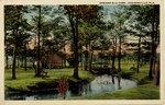 Postcard: Springfield Park, Jacksonville, Fla