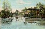 Postcard: The Springfield park, Jacksonville, Fla