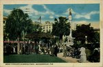 Postcard: Band Concert, Hemming Park, Jacksonville, Fla