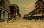 Postcard: West Bay Street, Jacksonville, Florida