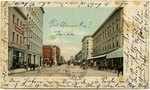 Postcard: Bay Street Looking East., Jacksonville, Florida; 1900's