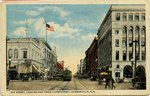 Postcard: Bay Street, Looking East from Laura Street, Jacksonville, Florida