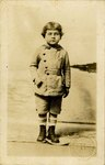 Postcard: Set of three Portrait cards of a Young Boy, Jacksonville, Florida; 1890's
