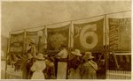 Postcard: Patrons at a Circus, Jacksonville, Florida