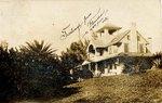 Postcard: Residential house, Jacksonville, Florida