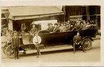 Postcard: Tourist Auto Bus, Jacksonville, Florida