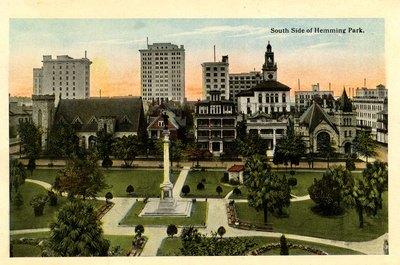 Souvenir Postcard Folder: Souvenir Folder of Beautiful Jacksonville, Florida