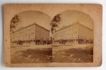 Stereograph Card: The Carleton House, Jacksonville, Florida; 1876