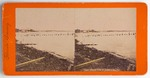 Stereograph Card: Distant View of Jacksonville, Fla., Florida Scenery; 1870-1890