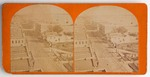Stereograph Card: Jacksonville From the National Hotel, Jacksonville, Florida; 1870-1890
