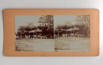 Stereograph Card: St James' Hotel, Jacksonville, Fla.; 1870-1890's