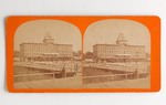 Stereograph Card: National Hotel, Jacksonville, Florida; 1870-1890's