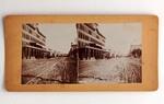 Stereograph Card: East Bay Street, Jacksonville, Fla.; 1870-1890's