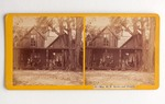 Stereograph Card: Mrs. H. B. Stowe and Family, Jacksonville, Florida; 1880-1900's