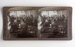 Stereograph Card: Governor Broward Genially Presents President Roosevelt to the people of Florida, Jacksonville, Florida; 1905