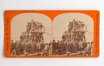 Stereograph Card: Opposite Putnam House, Palatka, Fla.; Undated