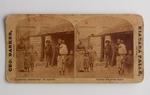 Stereograph Card: Florida, The Cartridge Box, St Augustine, Florida; 1886