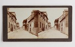 Stereograph Card: St George Street, This is the Business Street of St. Augustine, Florida; Undated