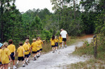 School Children on the Nature Trails