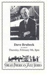 Dave Brubeck by University of North Florida Great American Jazz Series