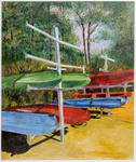 Boats at the Ready by Mary McAllister
