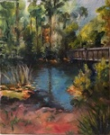 Bridge over Lake Oneida by Felicia Difato