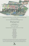 A Pre[serve] Show Poster by University of North Florida Environmental Center