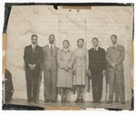 Photograph: Group Portrait, Unidentified Men And Women by R. Lee Thomas