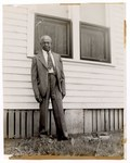 Photograph: Portrait, Man Standing Outside by R. Lee Thomas