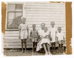 Photgraph: Group Portrait, Woman With Children by R. Lee Thomas