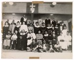 Photograph: Group Portrait, Unidentified People In Church by R. Lee Thomas
