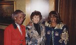 Photograph of Edna Saffy, Corrine Brown, and Shirley Chisholm