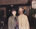 Photography of Shirley Chisholm and Dr. Edna L. Saffy