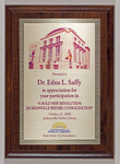 """Plaque: Participation in """"A Bold New Revolution: Jacksonville Before Consolidation"""" from Jacksonville Public Library, October 21, 2006"""