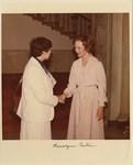 Photograph: Rosalynn Carter and Dr. Edna L. Saffy