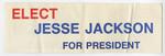Elect Jesse Jackson for President sticker