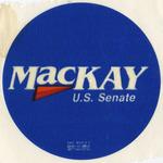 MacKay U.S. Senate sticker